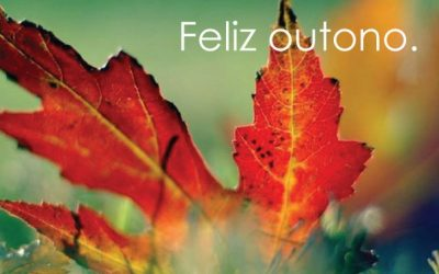 Boas vindas ao outono.