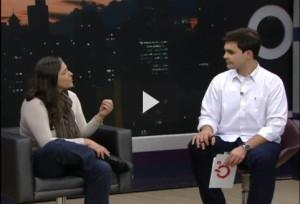 Conversa no programa Revista Curitiba