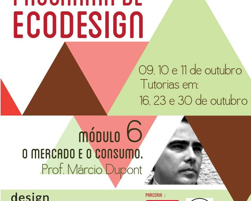 PROGRAMA DE ECODESIGN: Módulo 6 – Mercado e Consumo