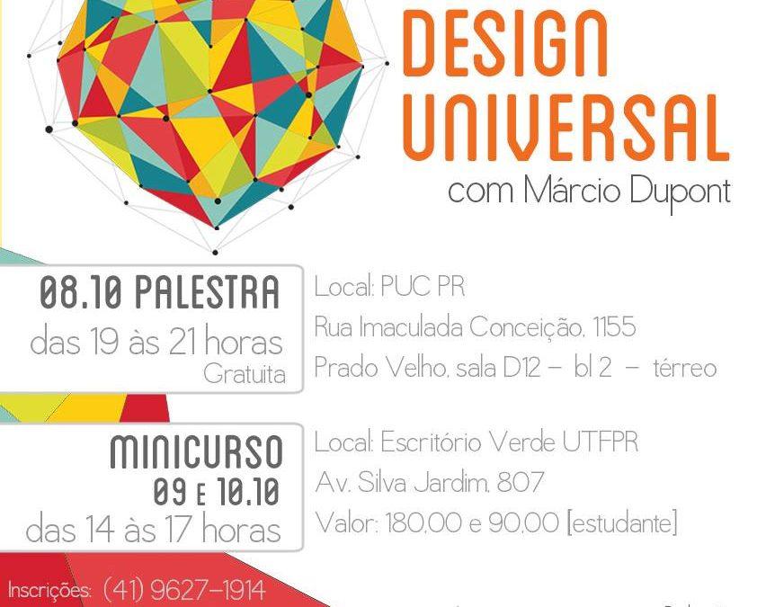 DESIGN UNIVERSAL …. PARA TODOS!